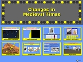 Changes in the lifestyle of Medieval people - Interactive